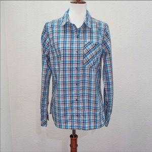 NWOT Patagonia Plaid Button Down Shirt Size Large